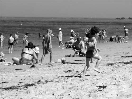enfance,plage,bretagne,mer